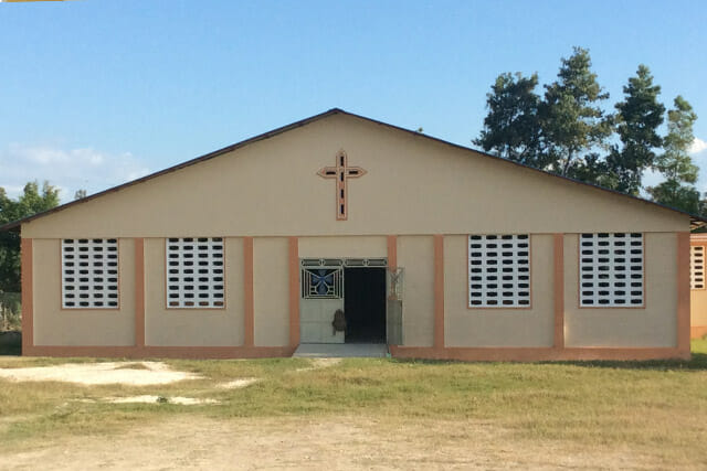 CrossRoads Church Built by CrossRoads Mission Haiti